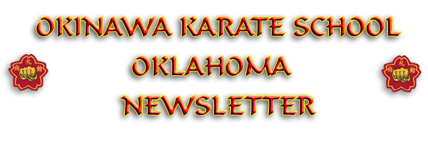 oklahoma dojo newsletter shorei kan karate