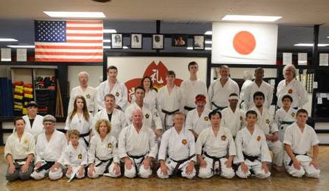 oklahoma dojo shorei kan karate group fun
