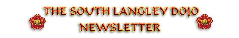 the langley newsletter shorei kan karate